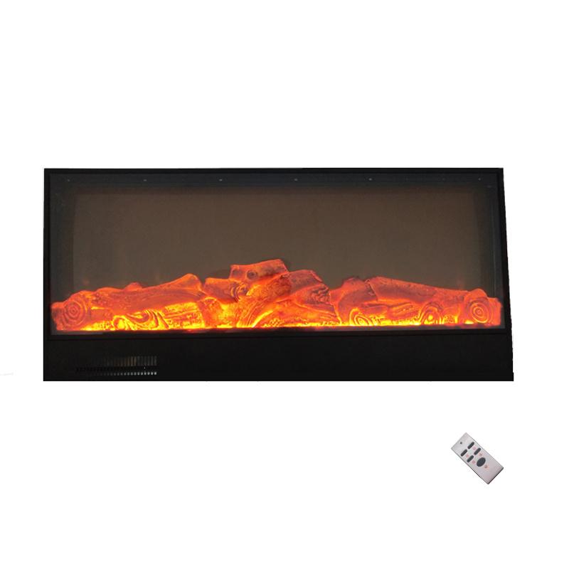 China 100 220v Modern 400sqt Black 3d Fire Heating Electric