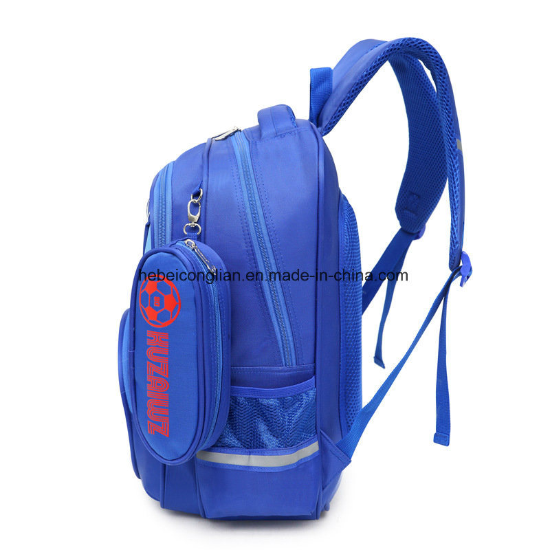 0ad9ea1987 China Boys Backpack Soccer Printed Kids School Bookbag for Primary ...