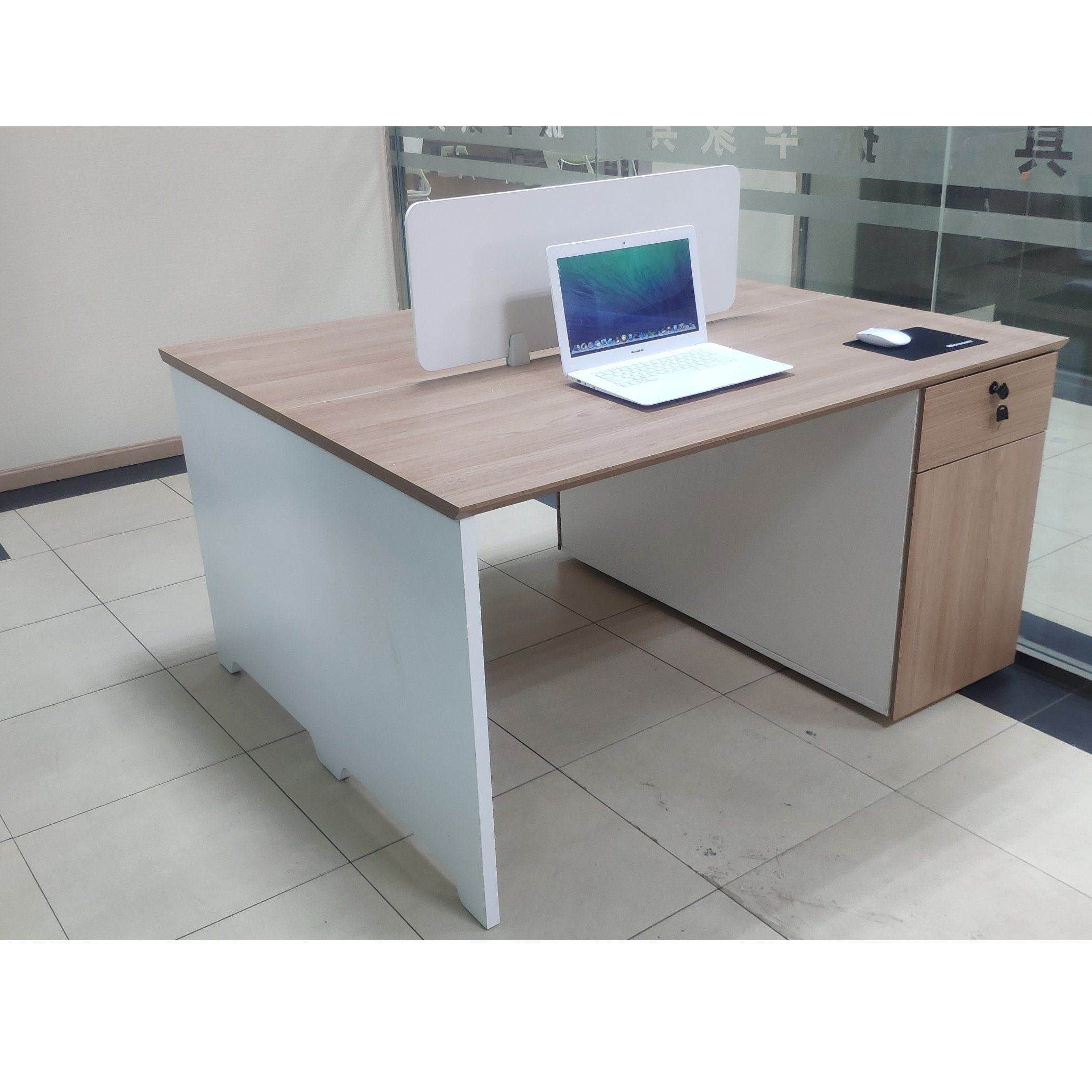 [Hot Item] China Factory Cheap Price Furniture Face to Face Staff Office  Desk Partition