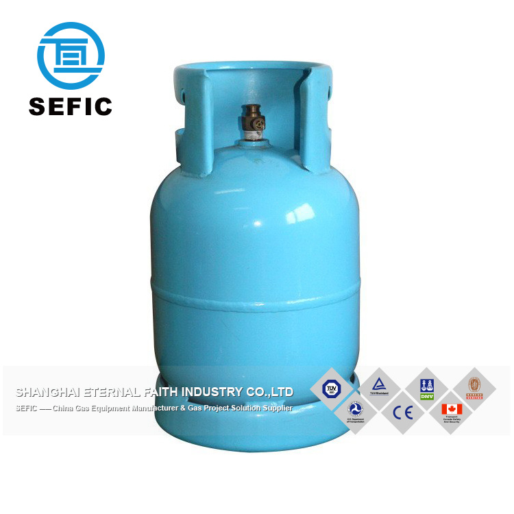 Camping 11kg Empty Lpg Gas Cylinder For Bbq