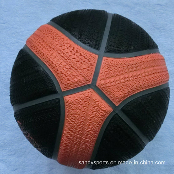 Best Quality Tyre Pattern Rubber Basketball pictures & photos