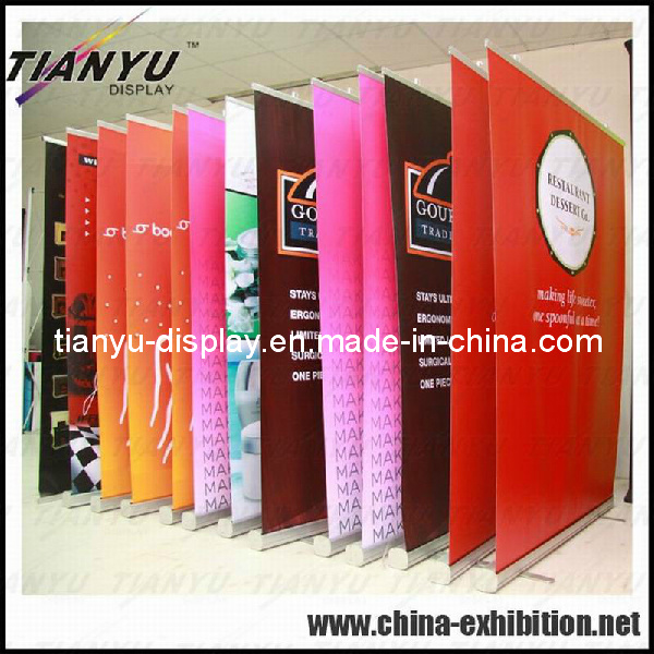 Aluminum Roll up Banner Stand for Trade Show (TY-EA) pictures & photos