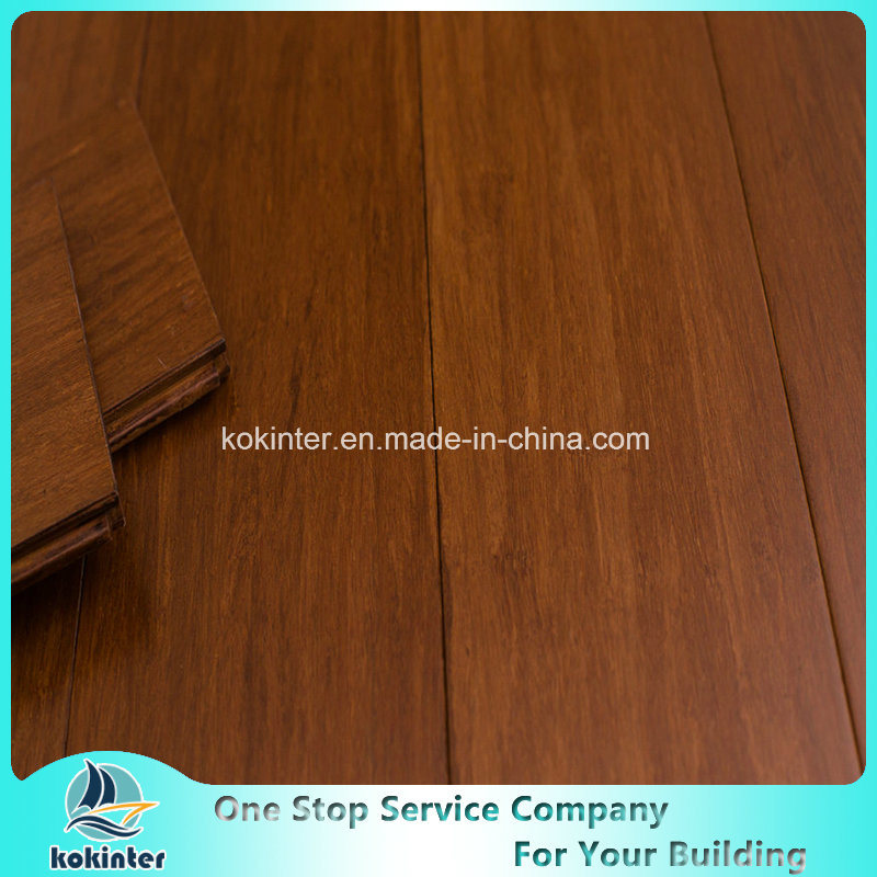 China High Quality T Strand Woven Bamboo Flooring Indoor Use In Aru Color Panel