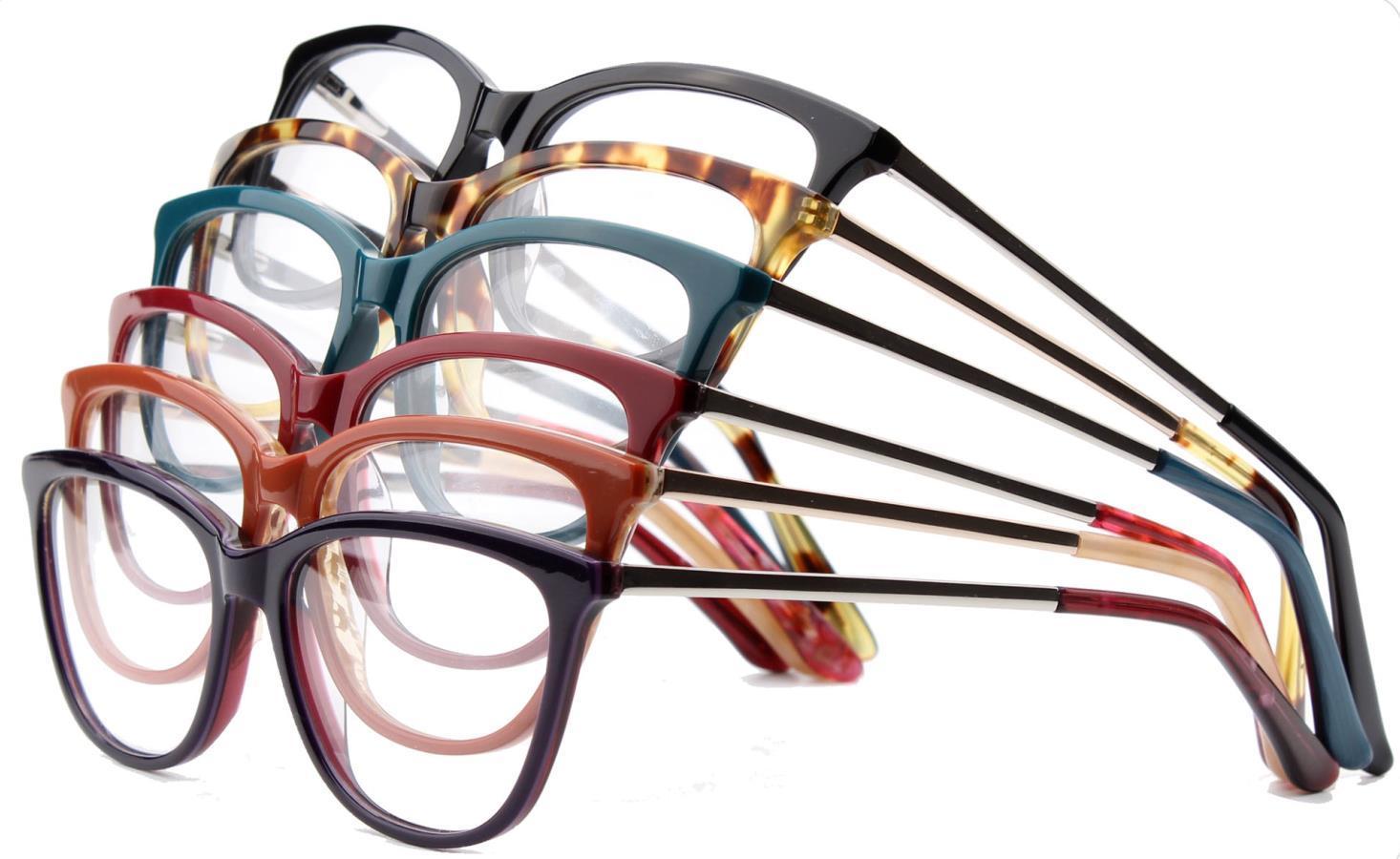 11ad414f8a Online Trend 2018 New Model Ready Stock Acetate Metal Optical Women Eye  Glasses Eyeglasses Frames