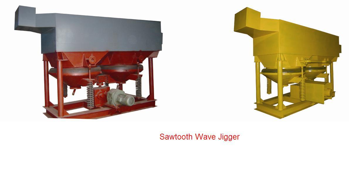 China Sawtooth Wave Jigger, Adapts Electromagnetic Stepless