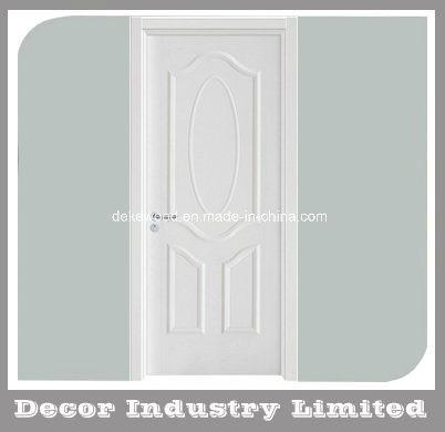 China 3 Panel Pre Painted White Woodgrain Unglazed Internal Standard
