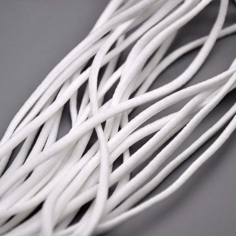 China 2 8 Mm Soft Elastic Dust Mask White Face Masks Rope Photos