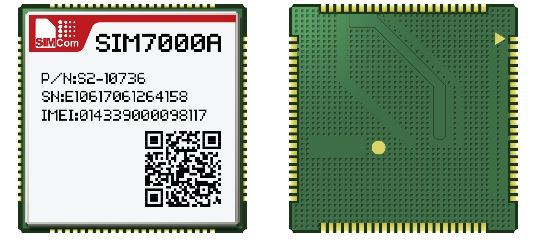 [Hot Item] SIM7000A 4G Module Which Supports Lte Cat-M1 (eMTC) and Nb-Iot