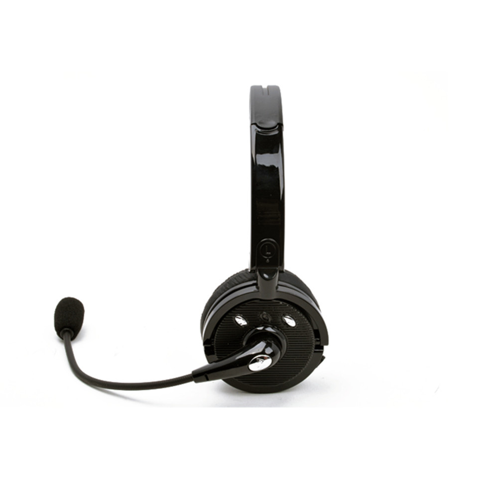 China Wireless Usb Trucker Bluetooth Cell Phone Headset Headphones With Mic China Headphone Wireless With Microphone Noise Cancelling Headphone With Microphone