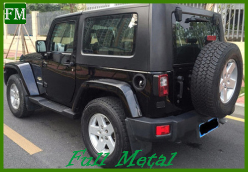 Jk Mopar 2/4 Doors Black Side Bar for 2007-2016 Jeep Wrangler pictures & photos