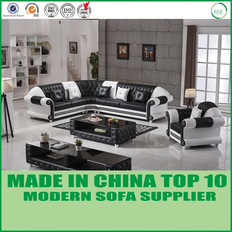 China New Model Sectional Leather Sofa Home Furniture - China Sofa ...