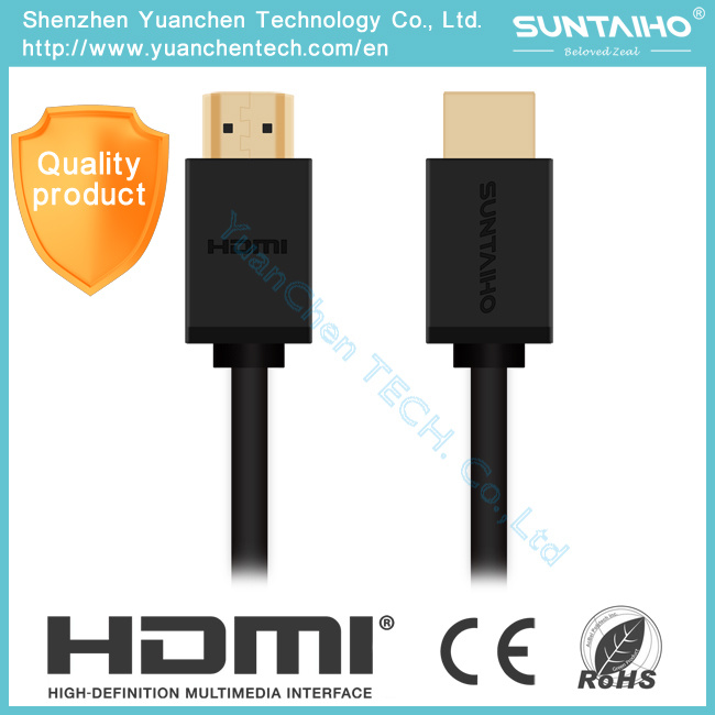 High Speed 1.4 Version Male to Male HDMI Cable for HD pictures & photos