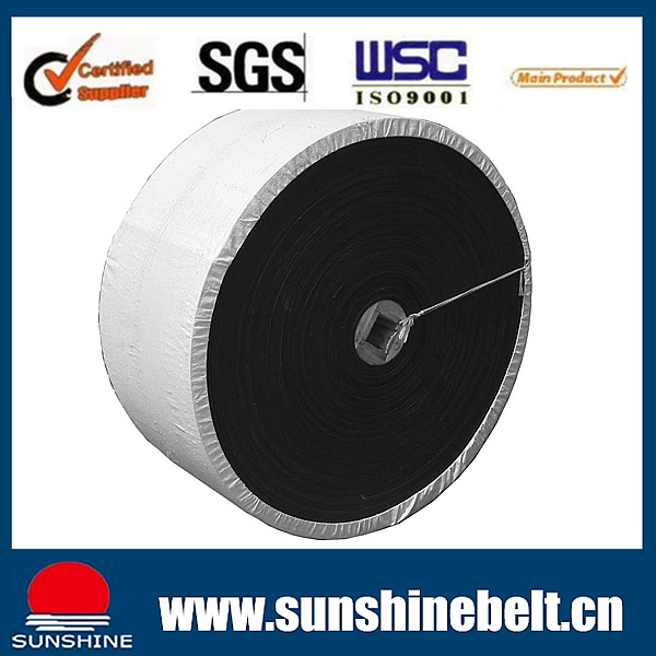 Sunshine Rubber Conveyor Belt Ep100/Nn100 10MPa Heat Resistant and Cold Resistant