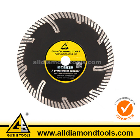 Hot Pressed/Sintered Narrow Turbo Diamond Saw Blade pictures & photos