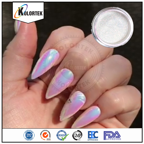 China 2017 Newest Rainbow Chrome Aurora Nails Powder, Nails Aurora ...