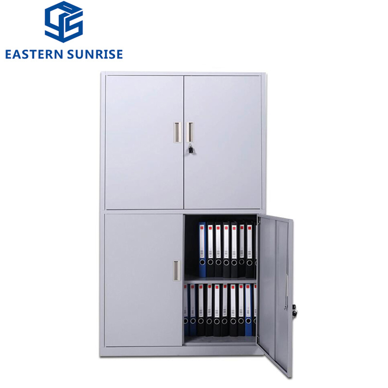 China 4 Swing Door Steel Filing Cabinet Metal Cupboard Designs Photos Pictures Made In China Com