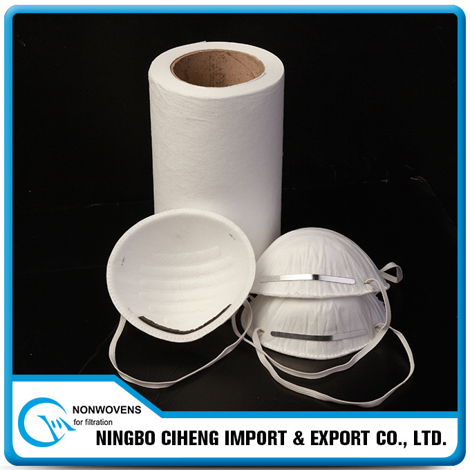 Static Electret Charging PP Melt Blown Nonwoven for Ffp Respirator