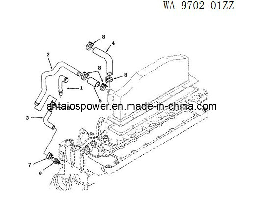 china after cooler of deutz diesel engine bf6l913c china deutzafter cooler of deutz diesel engine bf6l913c