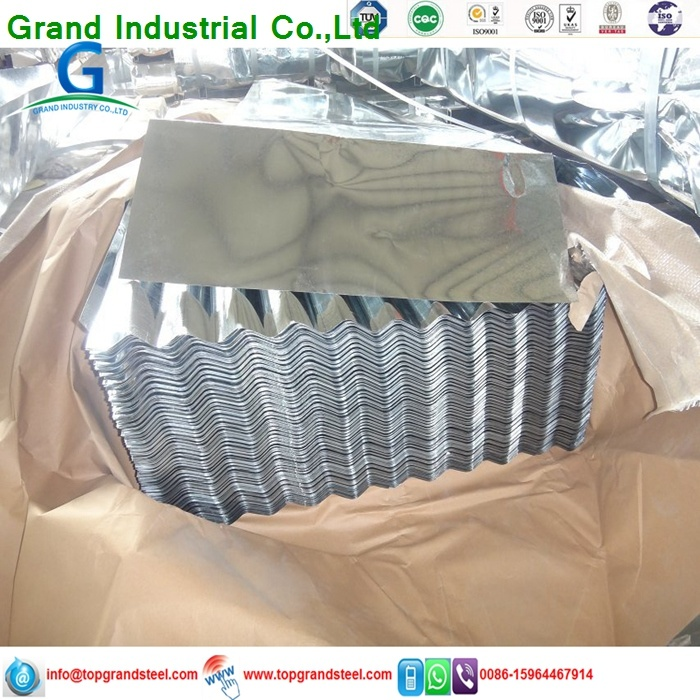 Corrugated Galvanized Steel Zinc Roofing