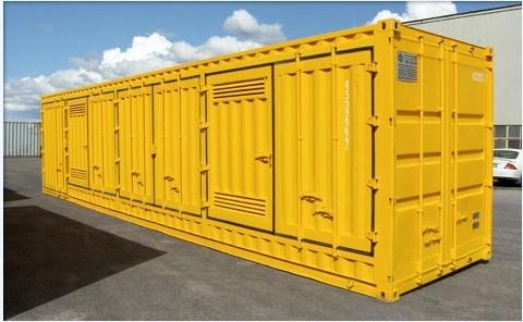 China 40 Hazardous Goods Containers Side Door Open Bunded Floor