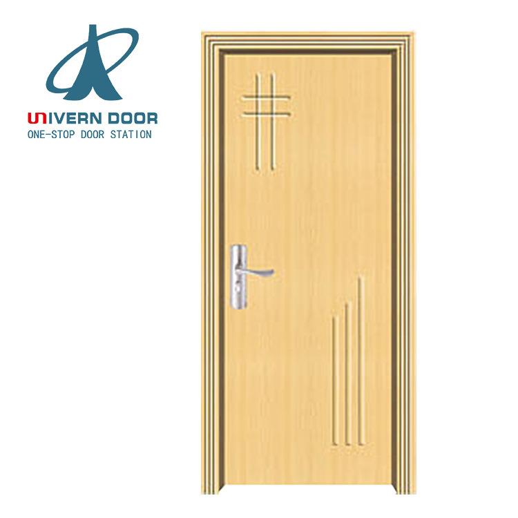 Hot Item Main Entrance Door Kerala Teak Mdf Pvc Cheap Interior Used Solid Wooden Door