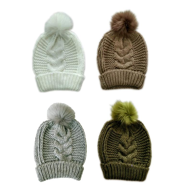 China Lady Winter Warm Fashion Knitting Roving Diamond Pattern