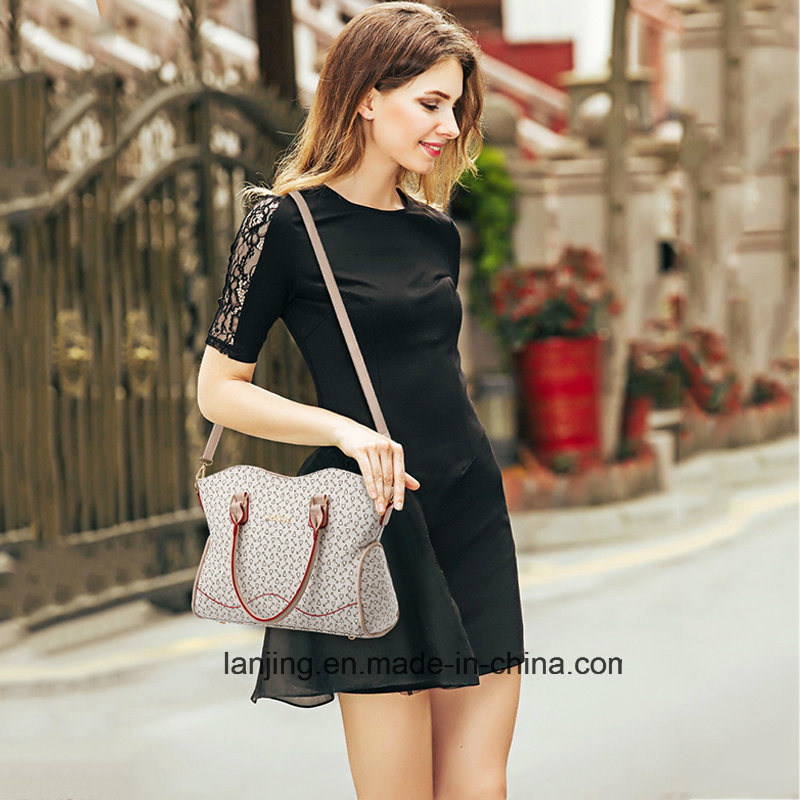 2018 Fashion Women Leather Tote Bag 6 Pieces Set Lady Handbag for Wholesale 41e29f3a35817