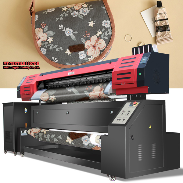 [Hot Item] Large Format Sublimation Printer Digital Textile Fabric Printing  Machine with 1440dpi