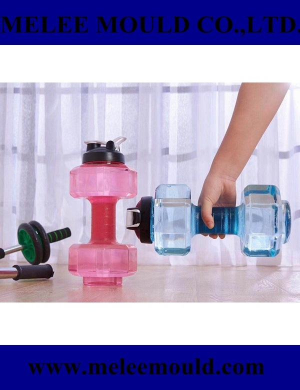 Melee Dumbbell Shape Bike Sport Plastic Water Bottle pictures & photos