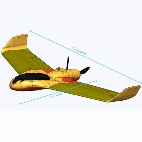 China Skywalker X5 PRO 1280mm Wingspan Epo Fpv Flying Wing RC