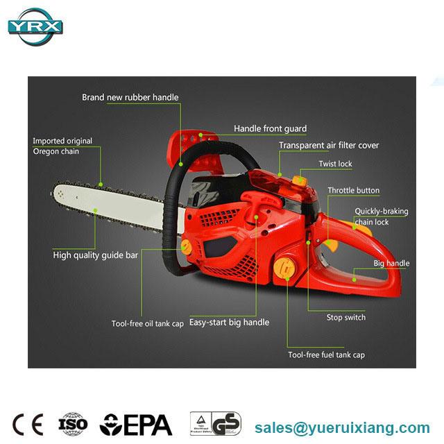 [Hot Item] 92cc 5 2kw Gas Powered Chain Saw