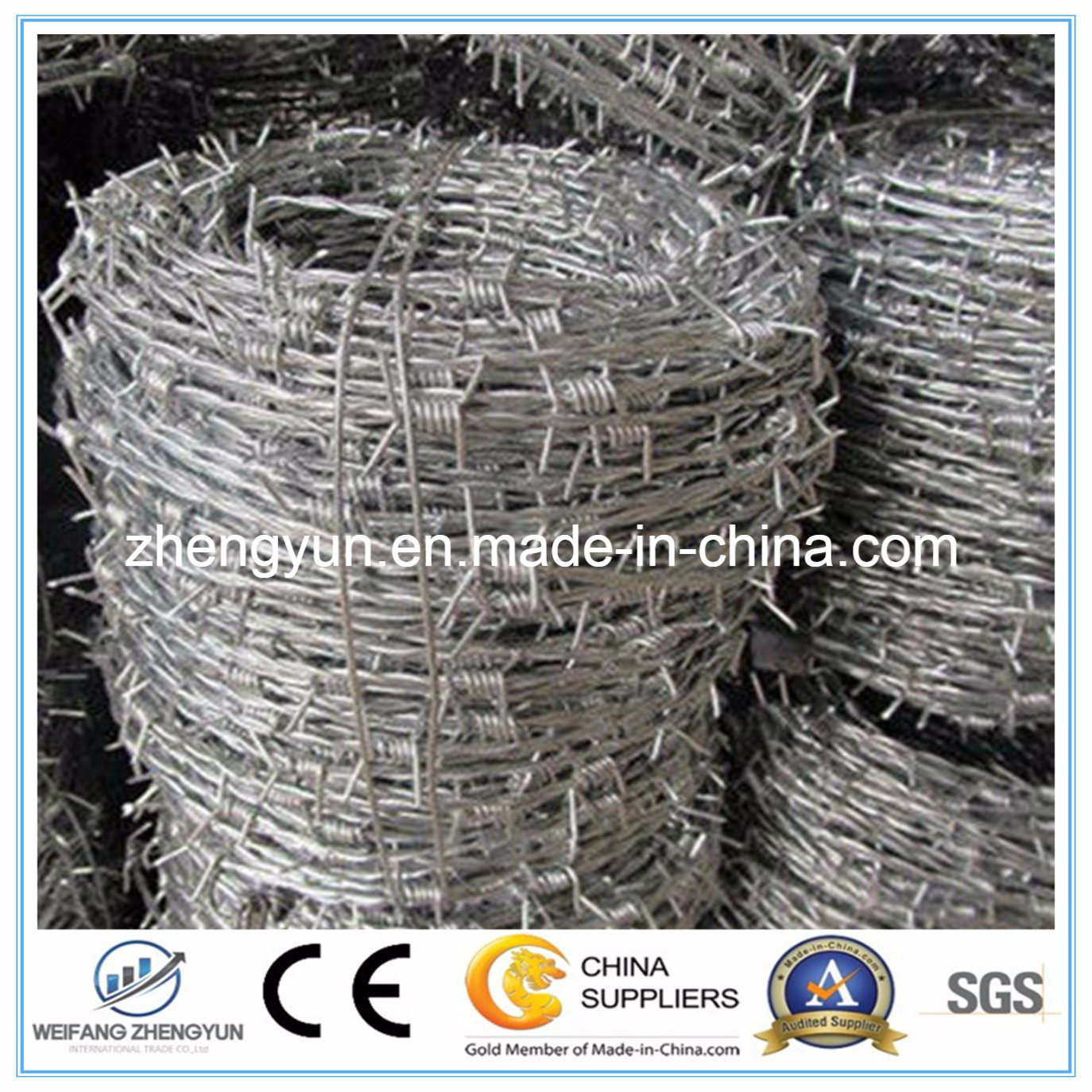China Building Materials Galvanize Barbed Wire Weight - China Barbed ...