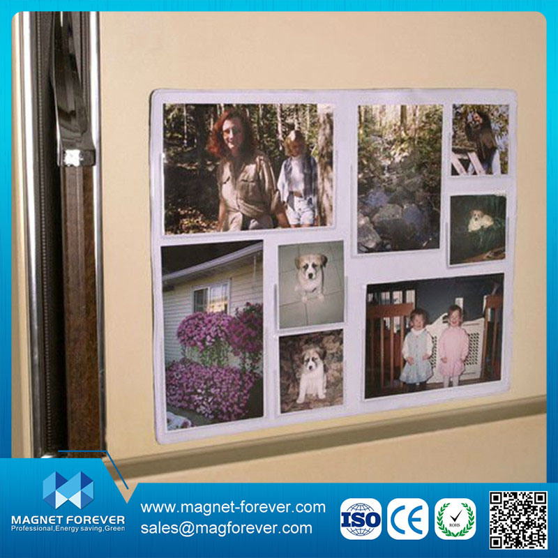 China Hot Sale Cute Acrylic and Plastic Fridge Magnet Photo Frame ...
