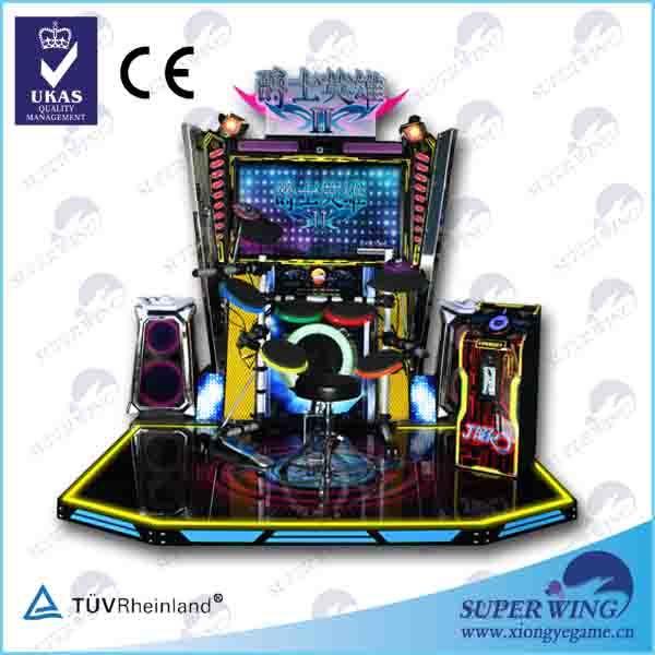 """China 42""""LCD Jazz Hero Electronic Drum Simulator Game - China Coin Operated Game Machine price"""