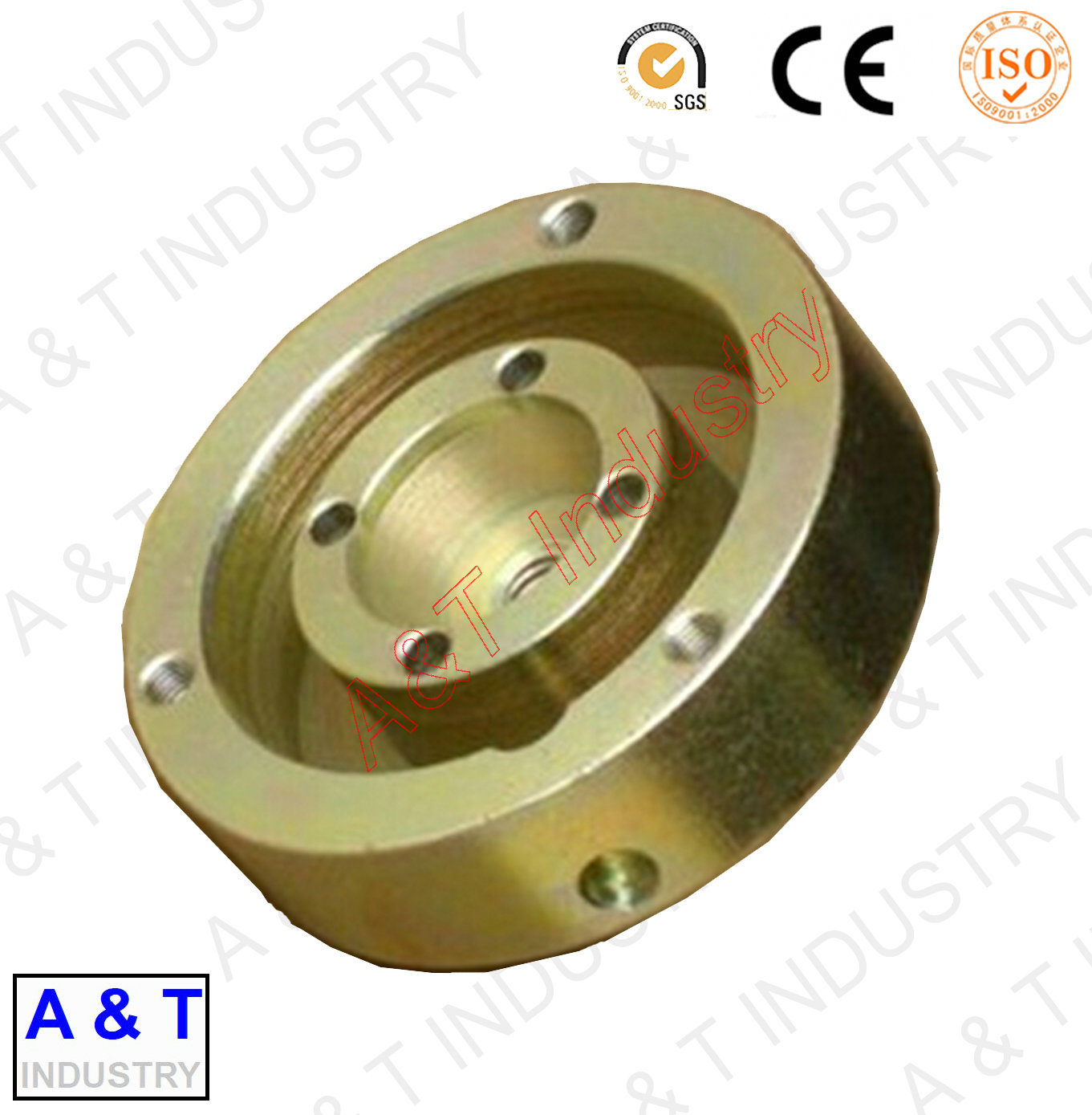 Customized Precision CNC Machined Brass Parts with Competative Price pictures & photos