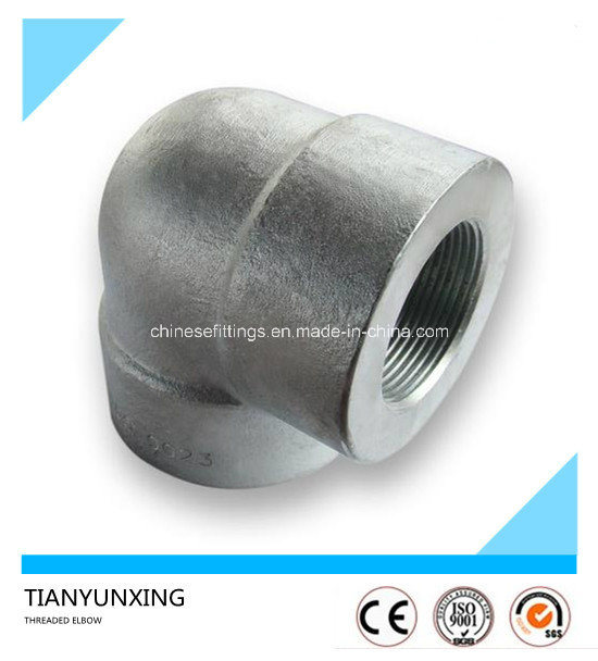 ASME B16.11 Steel Forged Sw/Threaded Screw Elbow