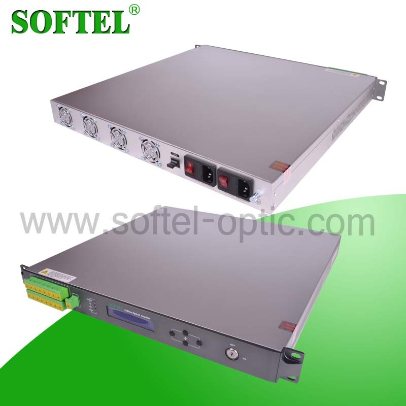 CATV High Power Multi Outputs Fiber Optic Amplifier