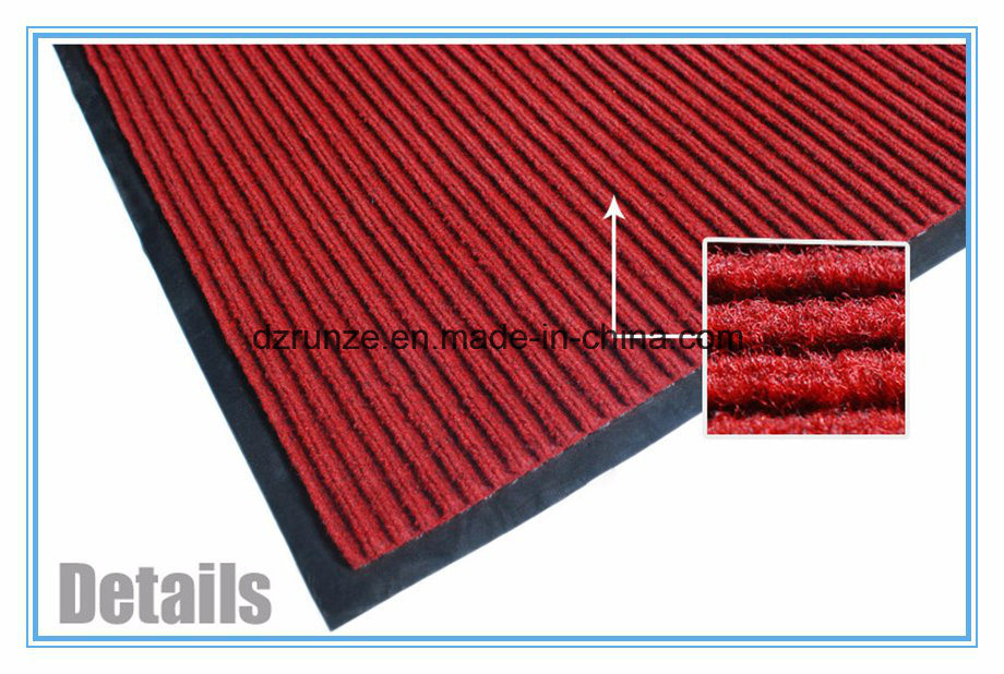 Double Ribbed Exhibition Carpet with Rubber Bottom pictures & photos