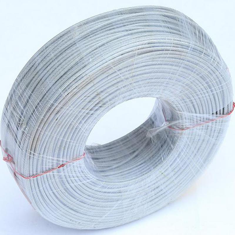 China Nylon/PE/ PVC/PA/PP Coated Galvanized Anti-Rust Steel Wire ...