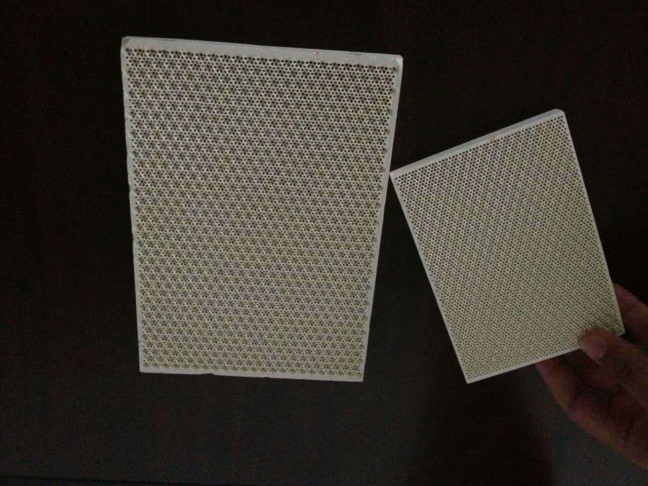 Cordierite Infrared Ceramic Honeycomb Plate Catalytic Heating Plate