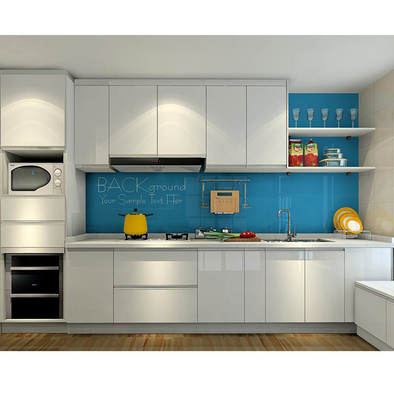 China New Design Apartment Kitchen