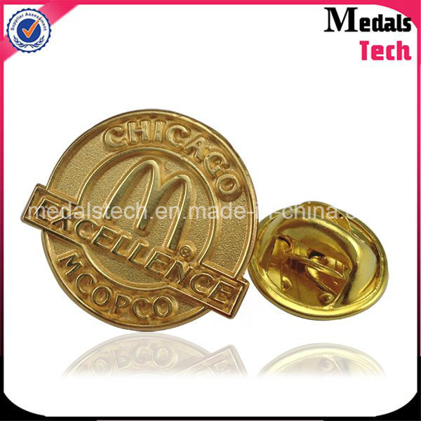 Gold Plated Promotional Custom Cheap Metal Lapel Pins