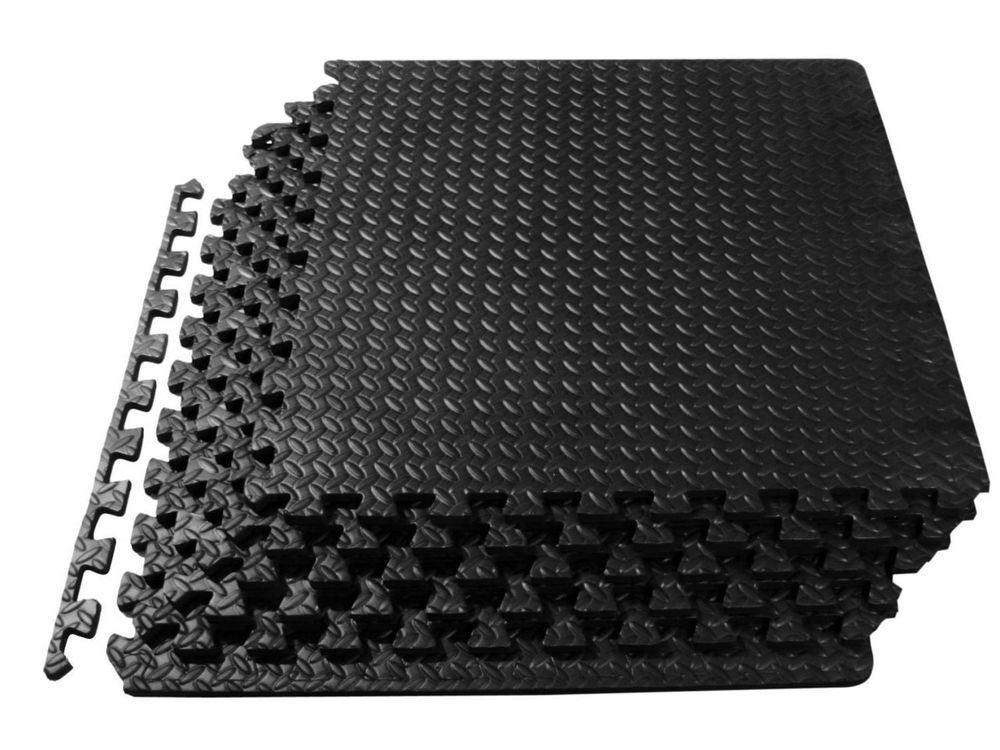 High Quality 60x60cm Interlocking EVA Soft Foam Kids Play Mats Tiles Set Safety