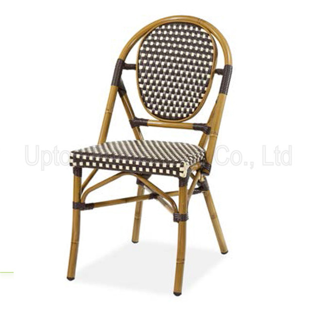 (SP-OC410) Outdoor Patio French Bistro Rattan Bar Stool