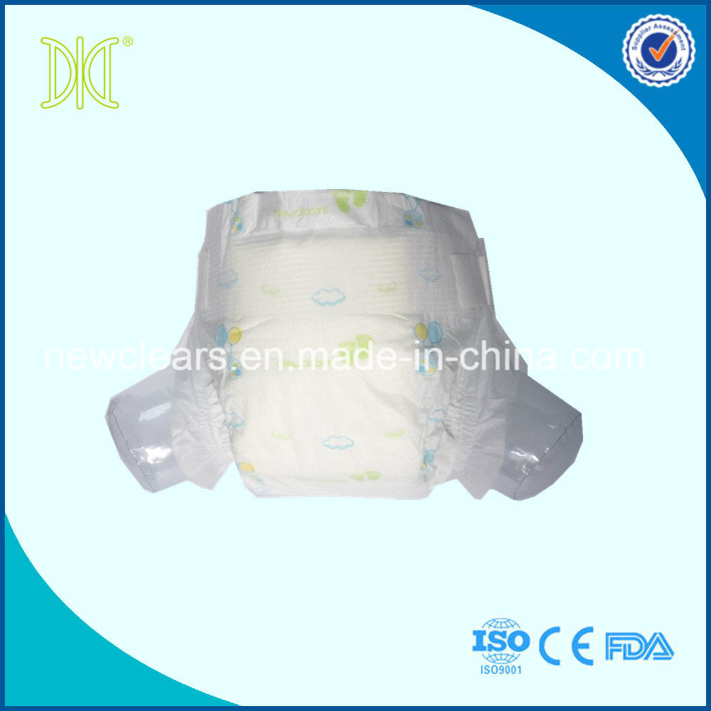 Baby Care OEM Baby Diaper Clothlike Film Disposable Baby Diaper