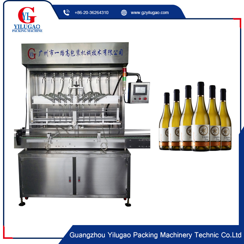 Automatic High Precision Drink Bottle Filling Machine