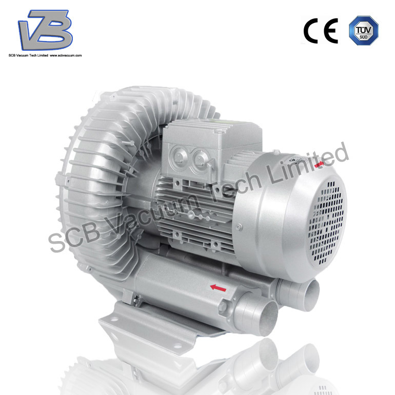 5.5kw Side Channel Vortex Blower Ring Blower for Drying System pictures & photos