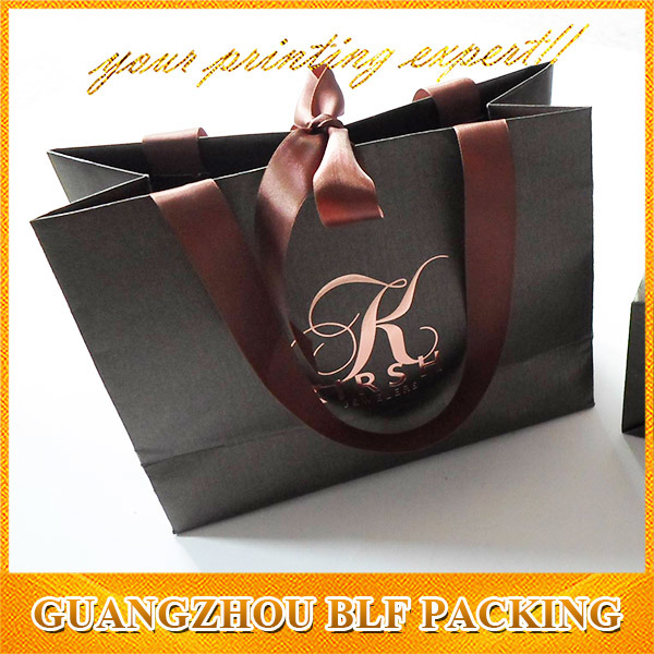 Color Printed Jewelry Fashion Handbag Paper Gift Bag for Shopping