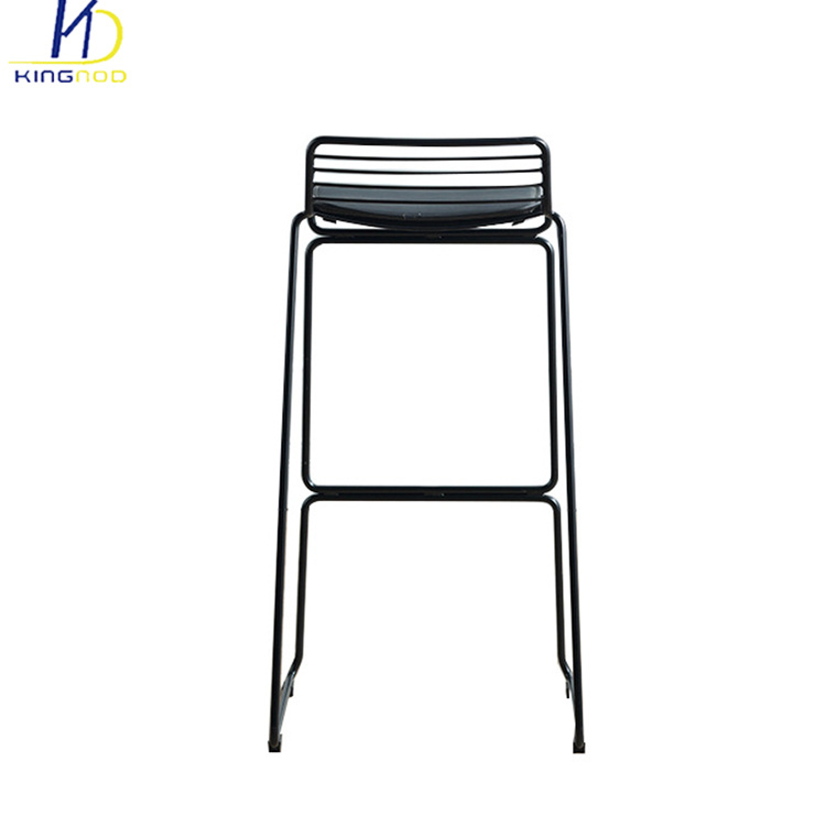 Metal Bar Chair Stackable Wire