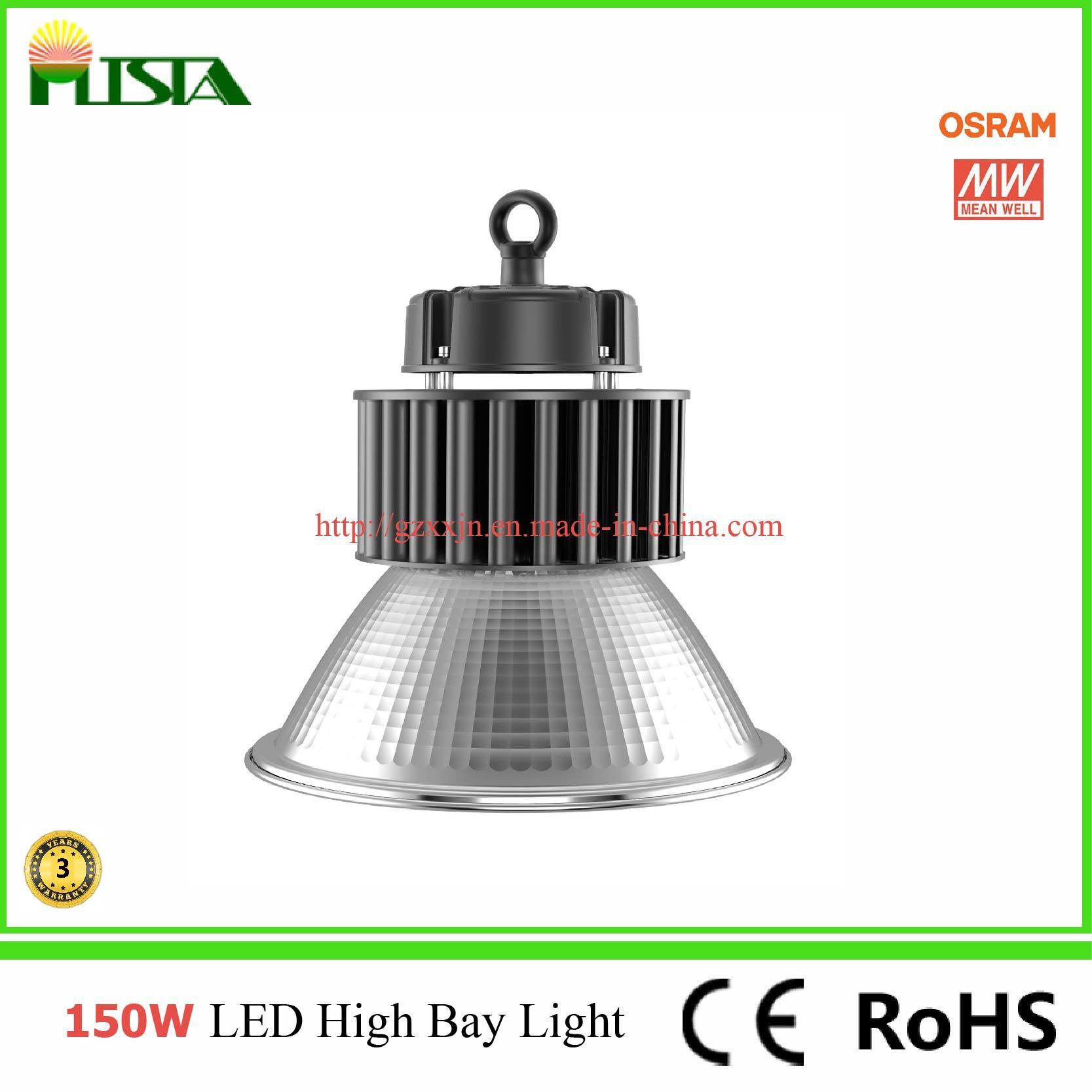 China 150w High Bay Led Light Ip44 With Osram Led Chip